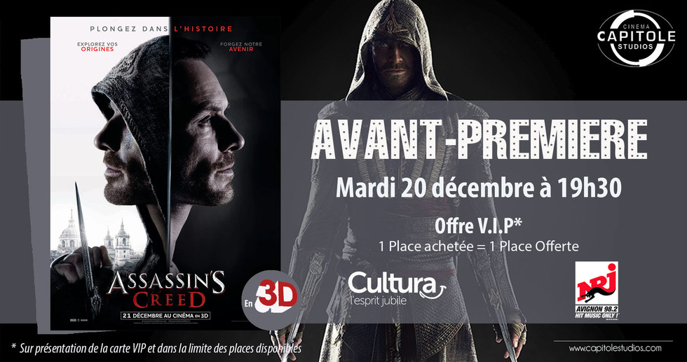 Photo du film Assassin's Creed - Son Dolby Atmos