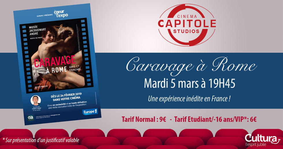 Photo du film Au coeur de l'expo - Caravage (CGR Events)