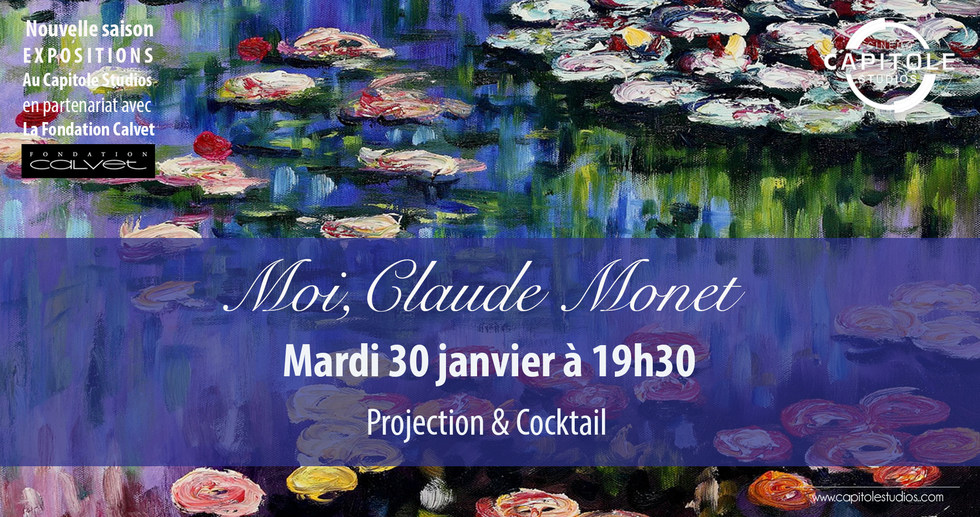 Photo du film Moi, Claude Monet